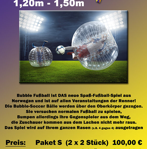 Bubble Soccer Balls Kids