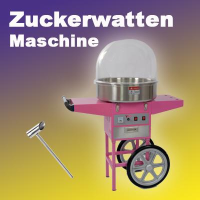 Zuckerwatten Maschine