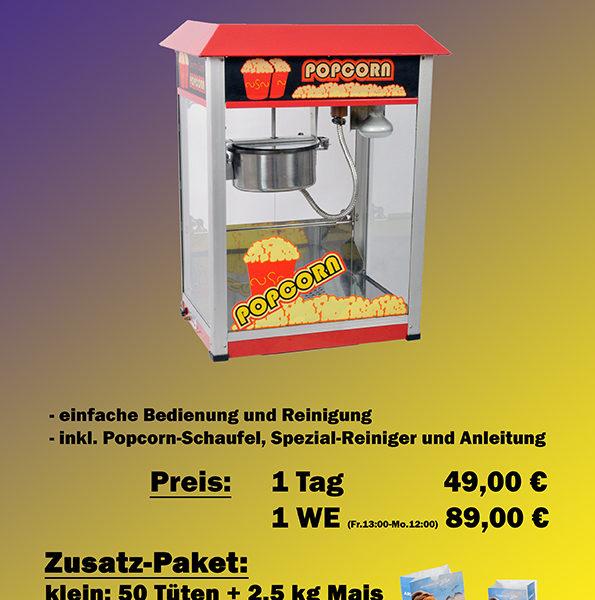 Popcorn Maschine